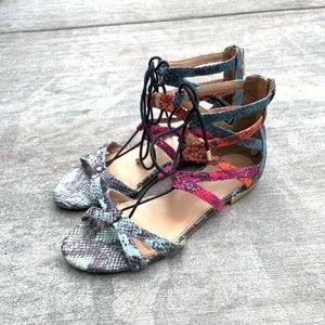 Aldo lace up gladiator sandals size 7.5